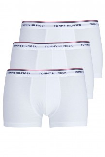 Tommy Hilfiger 3er Pack Premium Low Rise Trunk weiß