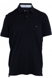 Tommy Hilfiger Polo regular fit Pique marine