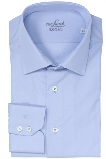 Van Laack Royal Hemd extra langer Arm tailor fit Ret bleu
