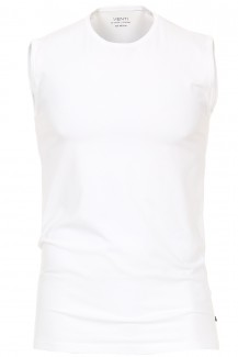 Venti T-Shirt body fit Tank Top Rundhals DOPPELPACK weiß
