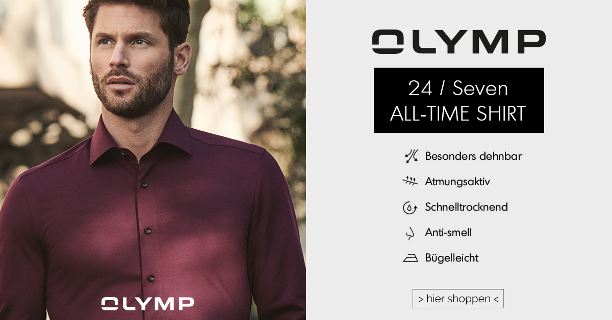 OLYMP - 24/Seven - ALL-TIME SHIRT